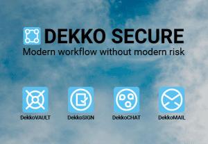 Dekko Secure – Secure workflow platform