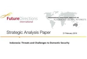 Indonesia: Threats and Challenges to Domestic Security