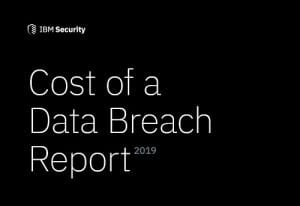 2019 Cost of a Data Breach Report