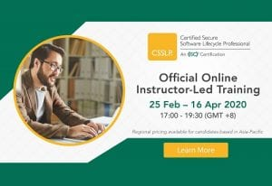 (ISC)² CSSLP Online Instructor-Led Training