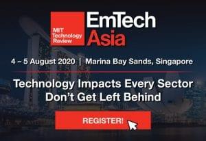 EmTech Asia 2020