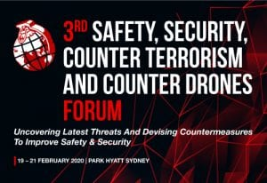 3rd Safety, Security, Counter Terrorism And Counter Drones Forum