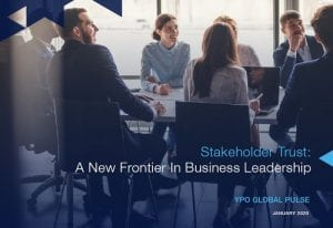 Stakeholder Trust: A New Frontier In Business Leadership
