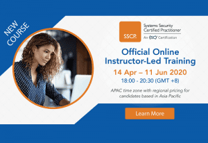 SSCP Online Instructor-Led Training