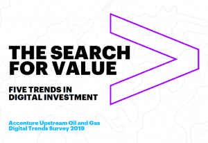 Accenture Upstream Oil and Gas Digital Trends Survey 2019