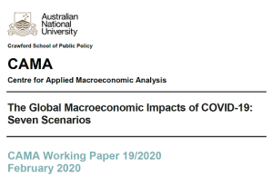The Global Macroeconomic Impacts of COVID-19: Seven Scenarios
