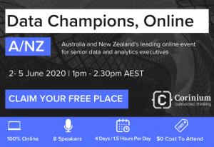 Data Champions Online, ANZ