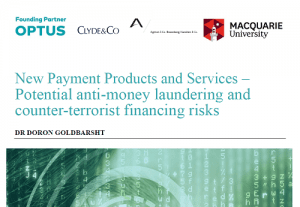 New Payment Products and Services – Potential anti-money laundering and counter-terrorist financing risks