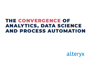 The convergence of analytics, data science and process automation