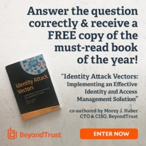BEYONDTRUST SPECIAL BOOK COMPETITION