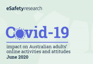 COVID-19 impact on Australian adults' online activities and attitudes