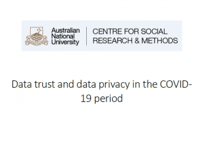 Data trust and data privacy in the COVID- 19 period