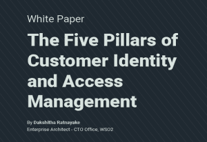 The Five Pillars of Customer Identity and Access Management