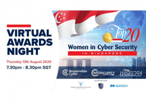 Awards Night – Top 20 Women in CyberSecurity in Singapore