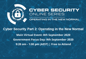 Cyber Security Virtual Summit: Operating in the New Normal