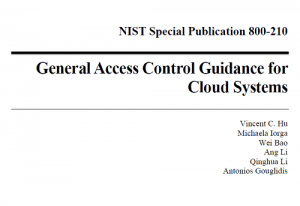General Access Control Guidance for Cloud Systems