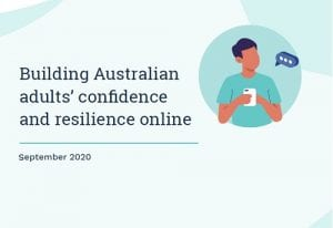 Building Australian adults' confidence and resilience online