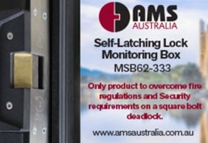 Self-Latching Lock Monitoring Box MSB62-333