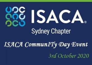 ISACA Sydney Chapter: CommunITy Day 2020