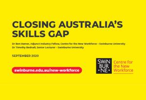 Closing Australia's skill gap