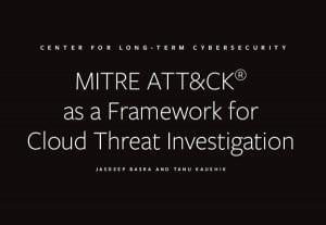 MITRE ATT&CK as a Framework for Cloud Threat Investigation