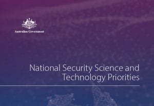 National Security Science and Technology Priorities
