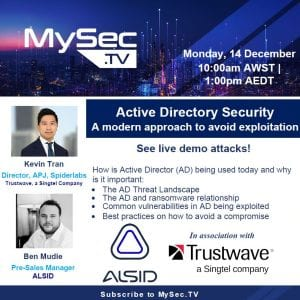 Active Directory Security – A modern approach to avoid exploitation