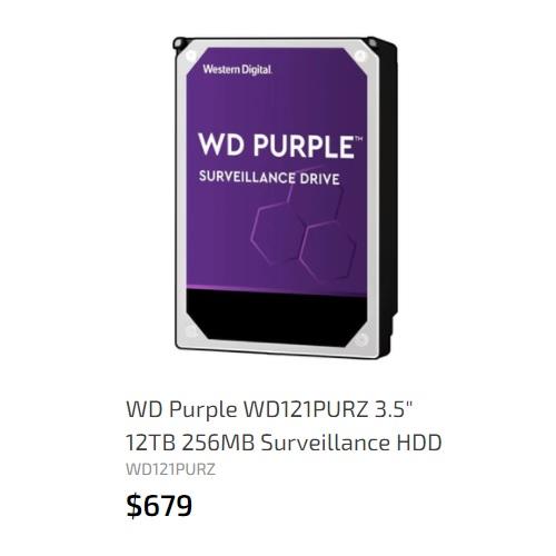 WD 12TB 256MB