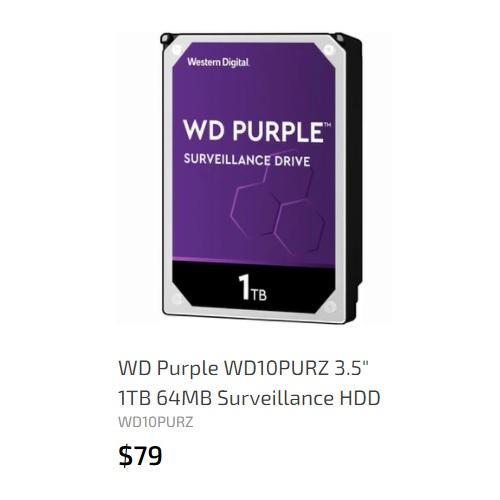 WD 1TB 64MB