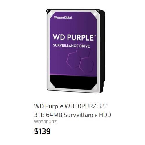 WD 3TB 64MB