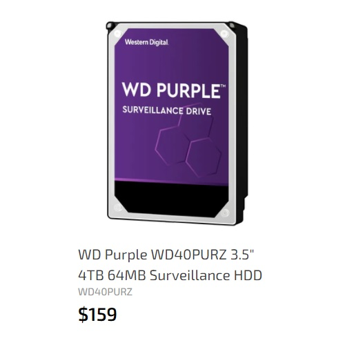 WD 4TB 64MB