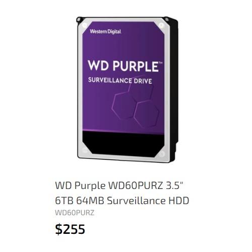 WD 6TB 64MB