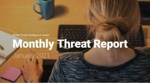 NTT Ltd GTIC Monthly Threat Report, January 2021
