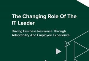 The Changing Role of the IT Leader