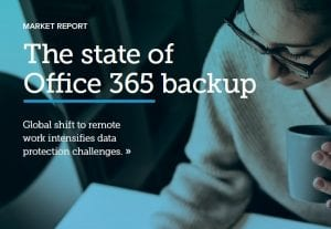 The state of Office 365 backup
