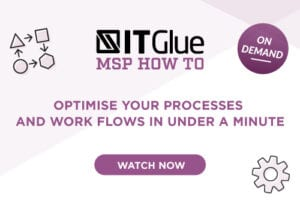 Optimise your processes and work flows in under a minute