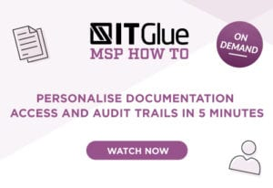 Personalise documentation access and audit trails in 5 minutes